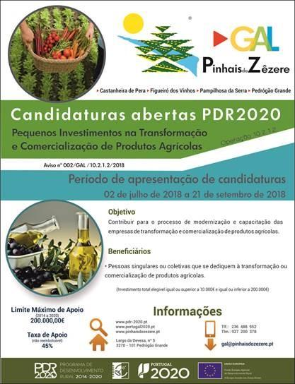 Candidatura ao PDR2020